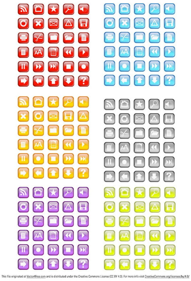 Random Free Vectors Part 1 - Circles