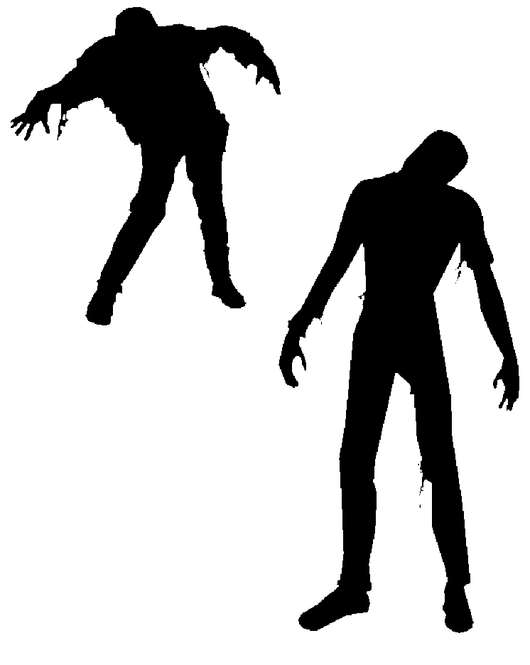 Free Vector Zombies