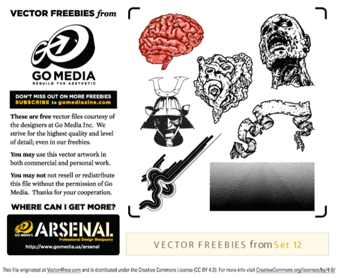 Free Vector Pack 12 Sampler