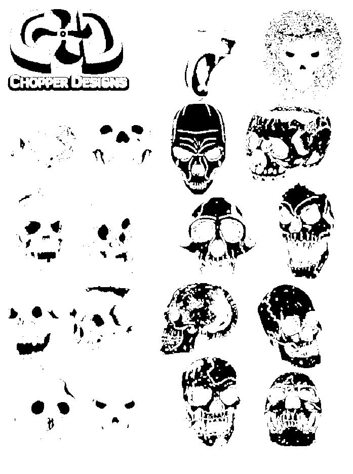 ChopperDesigns Skull Set