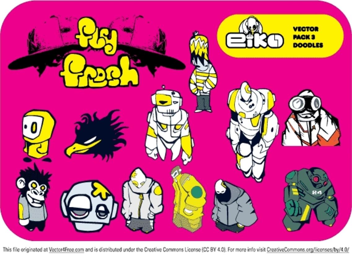 Eiko Vector Pack 3