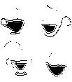 Coffee cups for your usage