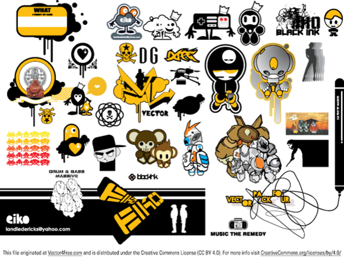 free vector pack  4