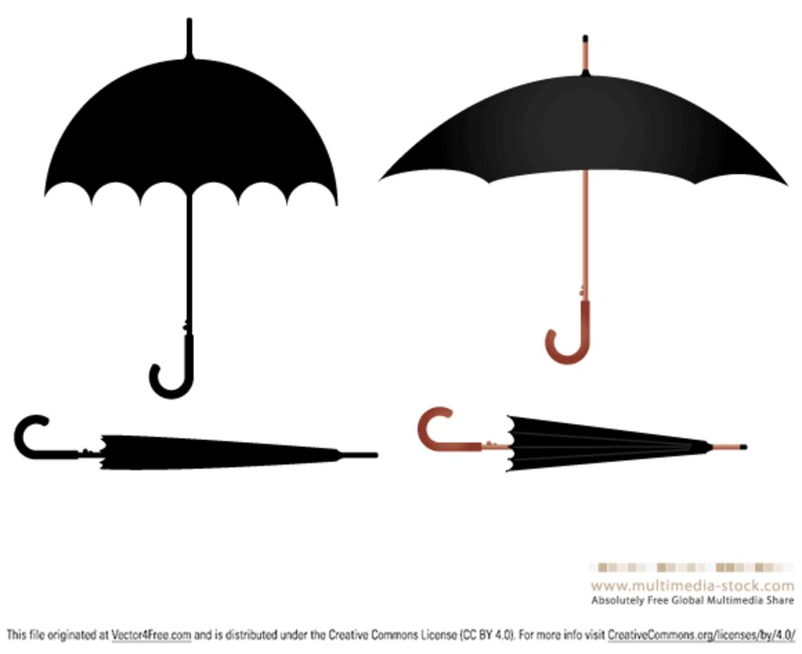 Umbrella vector set
