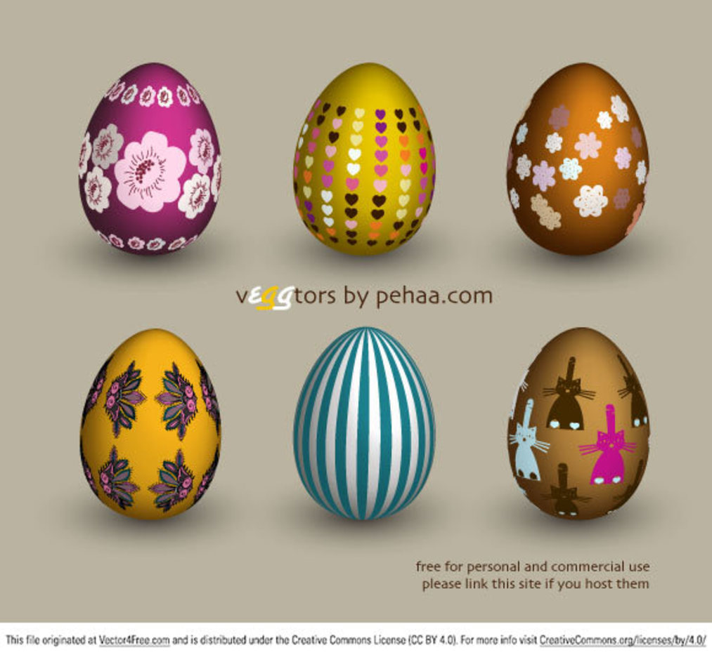 vEGGtors - vector eggs
