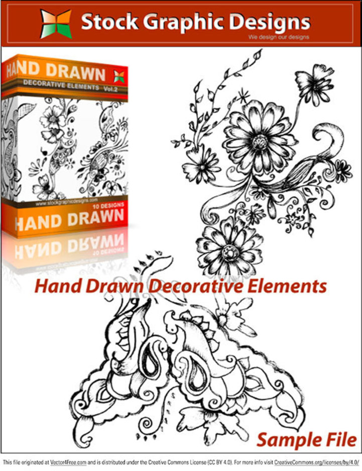 Hand Drawn Decorative Elements
