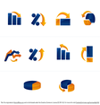 Vector Graph and Chart Icons