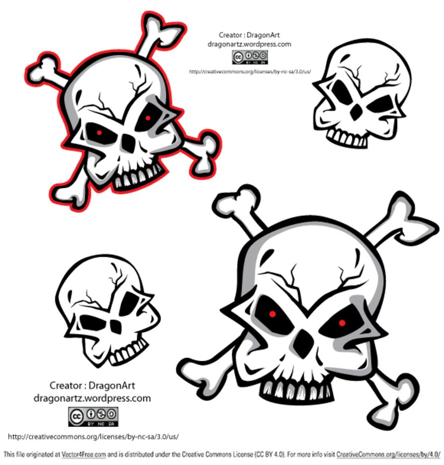 Skull Free Vector
