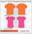 Vector T-shirt Template