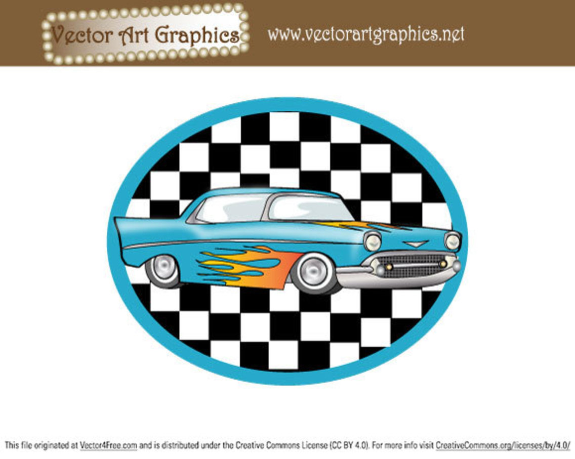 Vector Art Graphics - Classic Automobile
