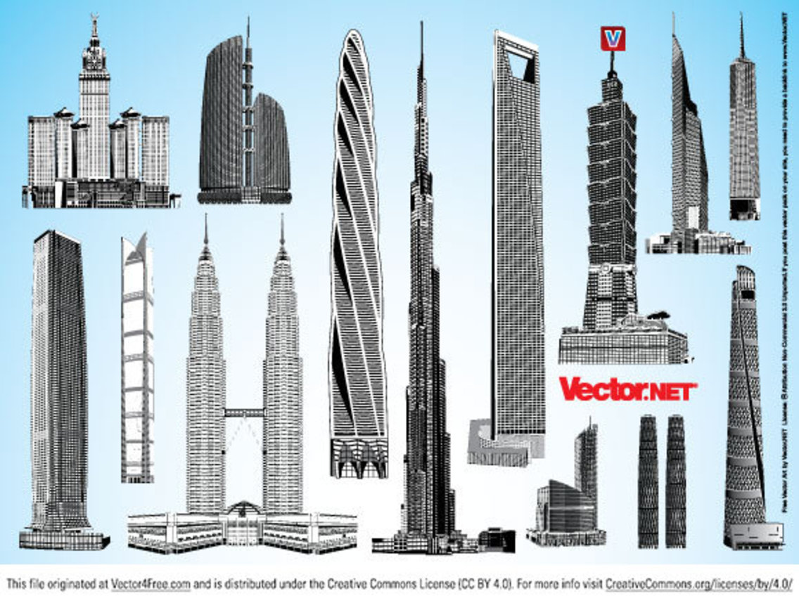 Skyscraper Vector Pack 2
