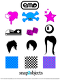 Free Vector Design Elements: Emo