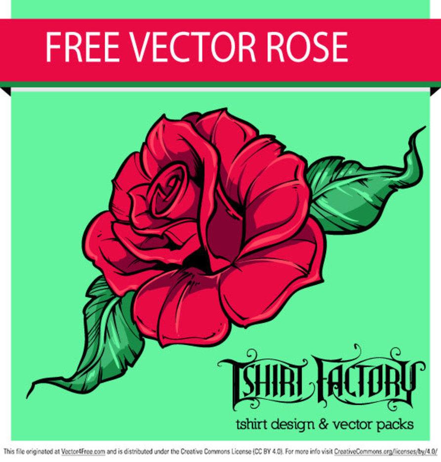 Free Vector Rose