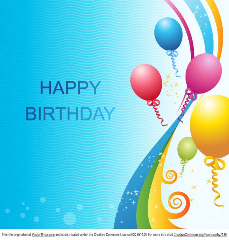 Vector Birthday Template
