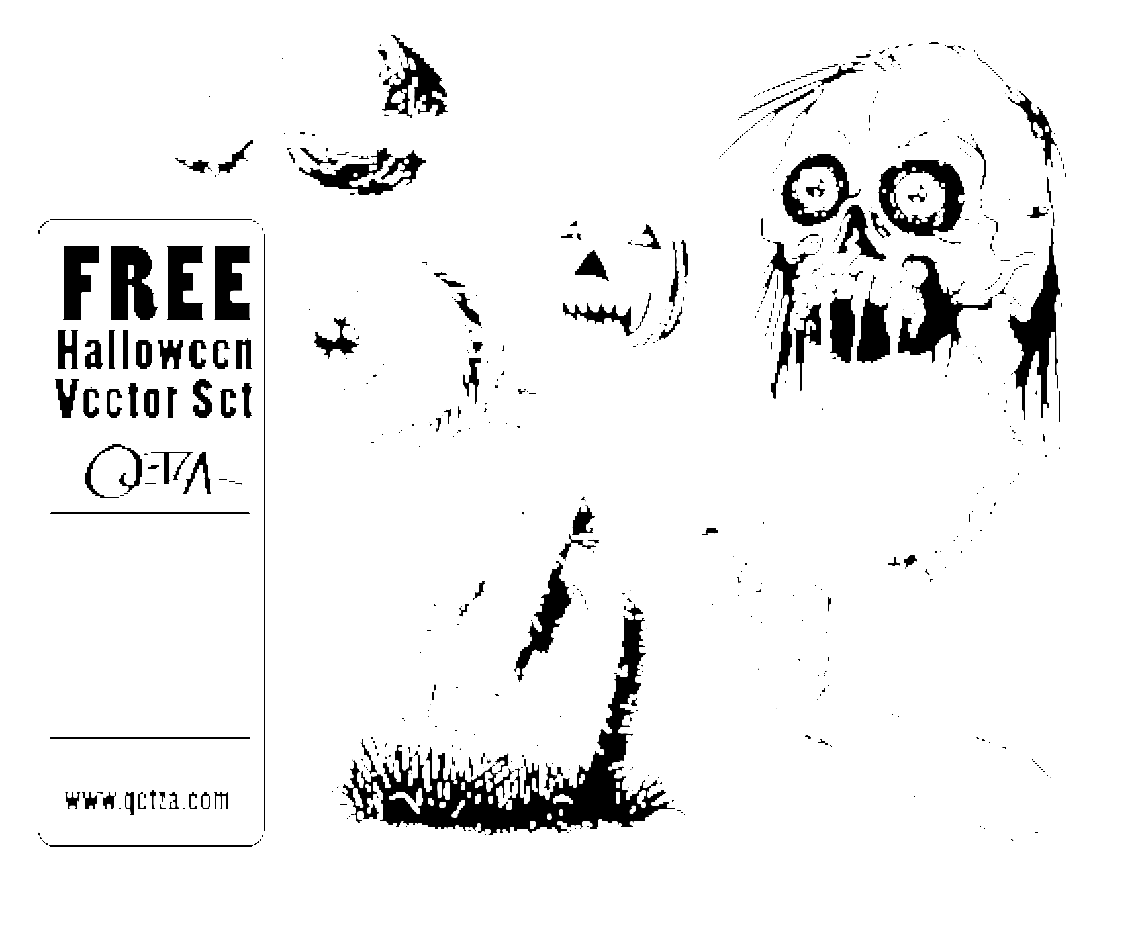 Free Halloween Vector Pack