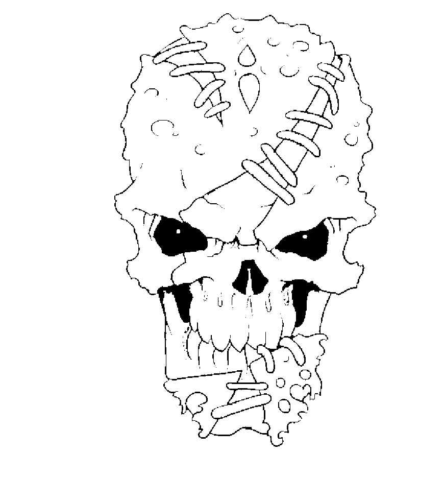 Vector Skull from Pixel77
