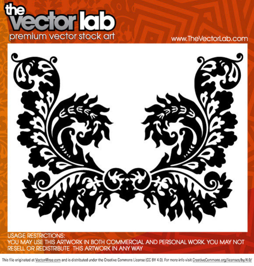 Ornamental Flourish Vector