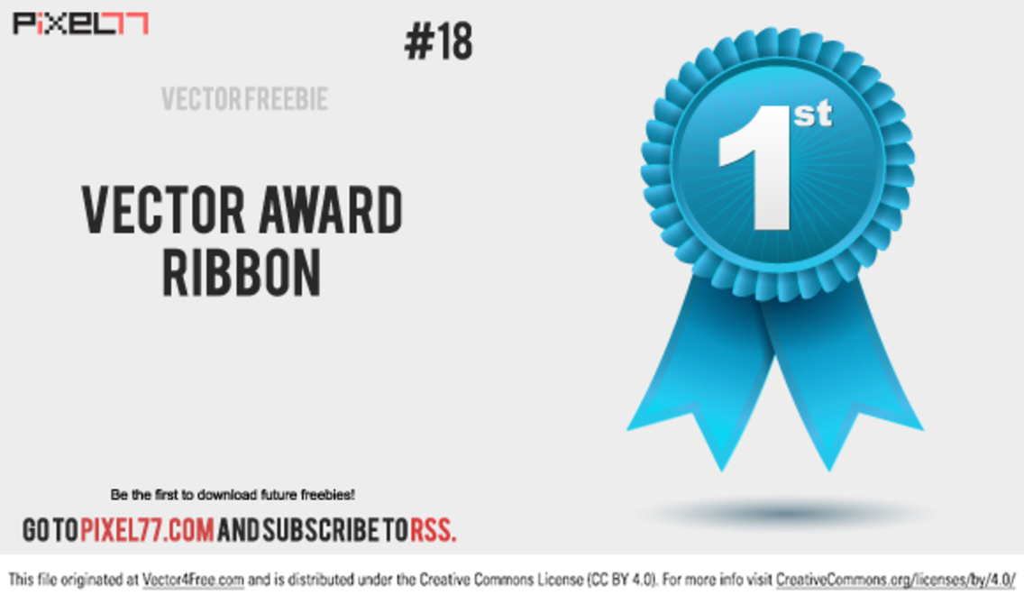 Free Vector Award Ribbon