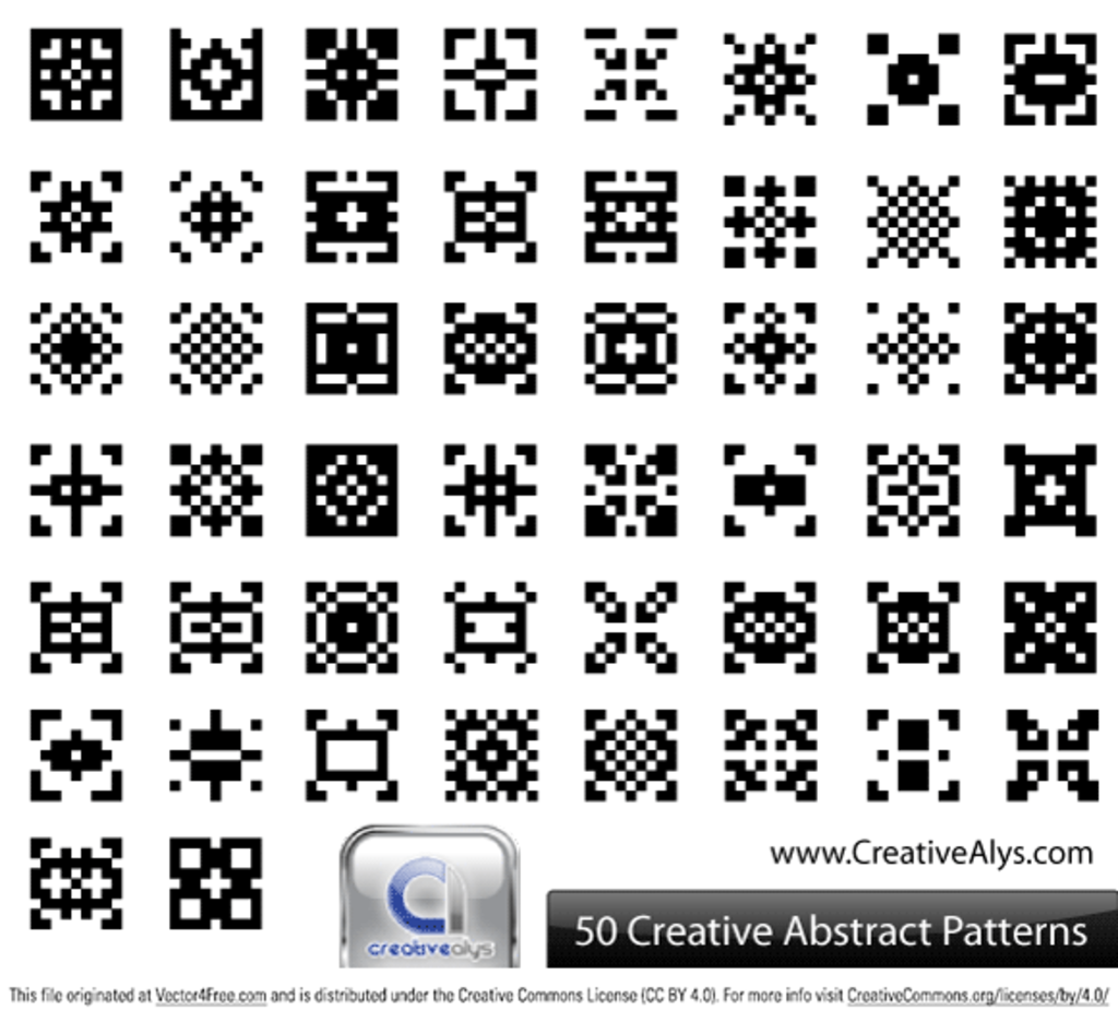 50 Creative Abstract Patterns