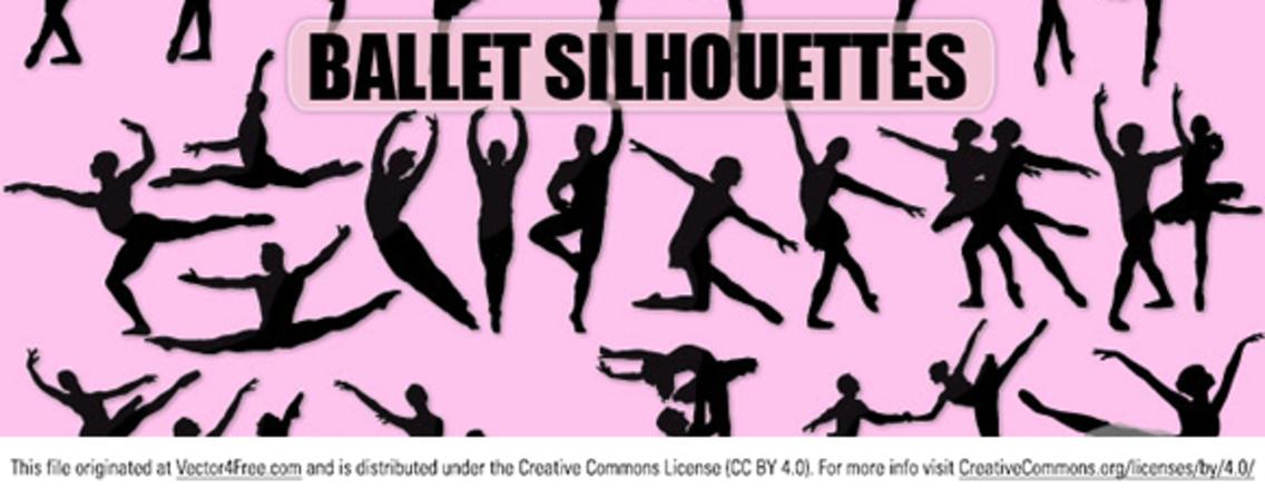 Vector Ballet Silhouette