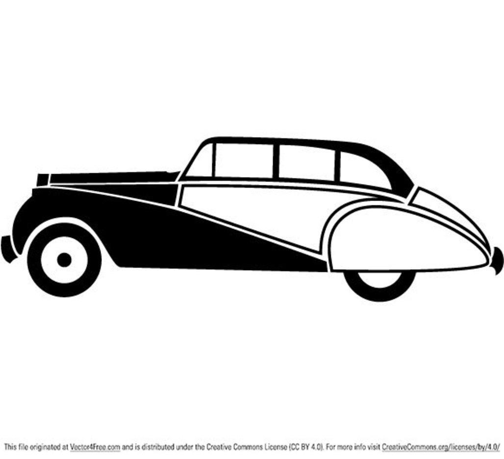 Vintage Car Vector