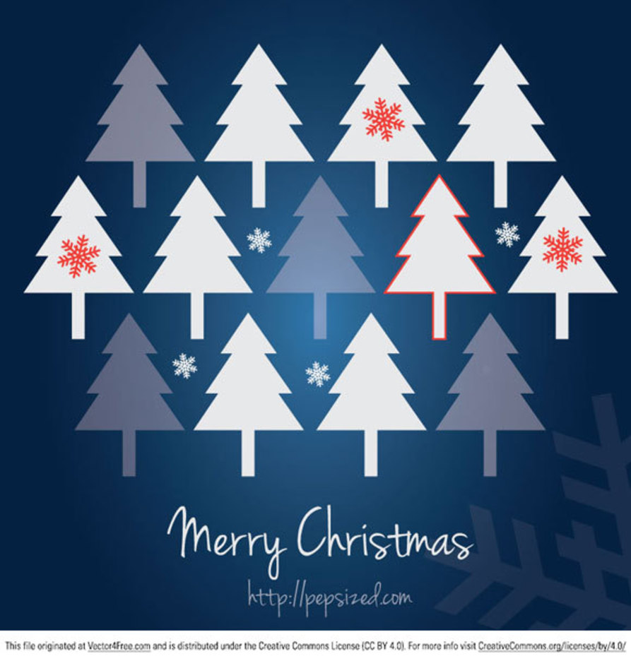 Christmas Card Free Vector Graphic
