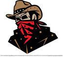 Cowboy Bandit Vector