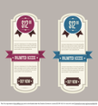 Retro Pricing Banners