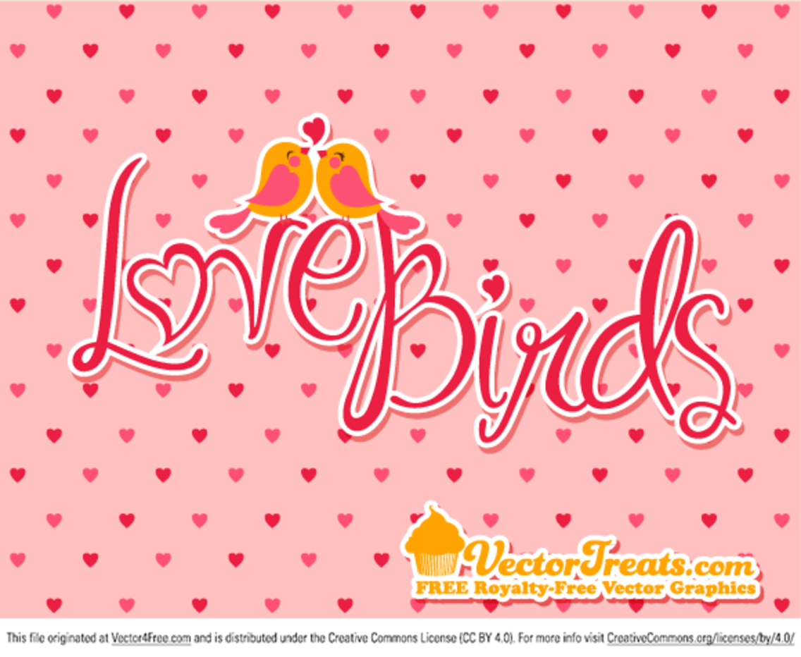 Valentine's Day Love Birds