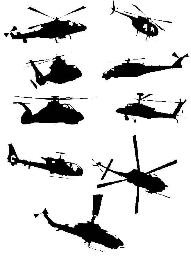 Helicopter Vector Pack