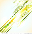 Green Lines Abstract Vector Background