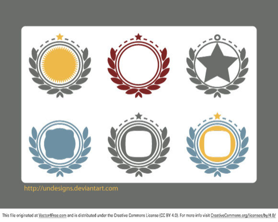 Vector Ornaments Frames