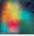 Geometric Colorful Abstract Background Vector