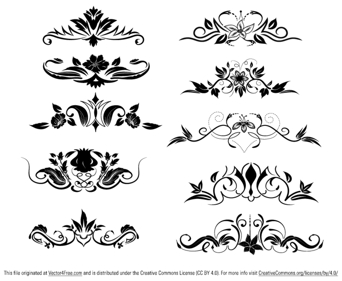 Ornament Vector Elements