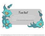 Flower Banner Template