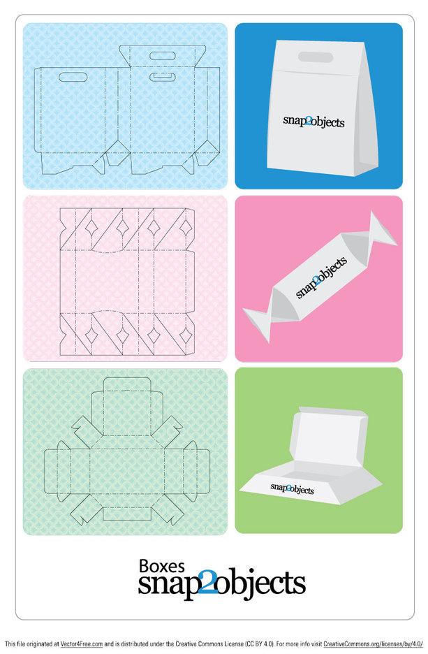 Free Vector Box Templates