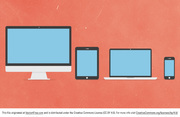 Free Vector Flat iDevice Icons