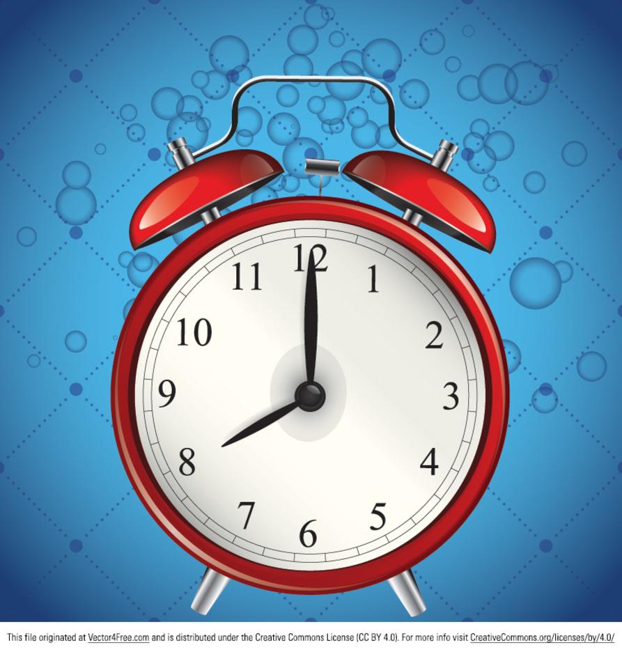Free Alarm Clock Vector