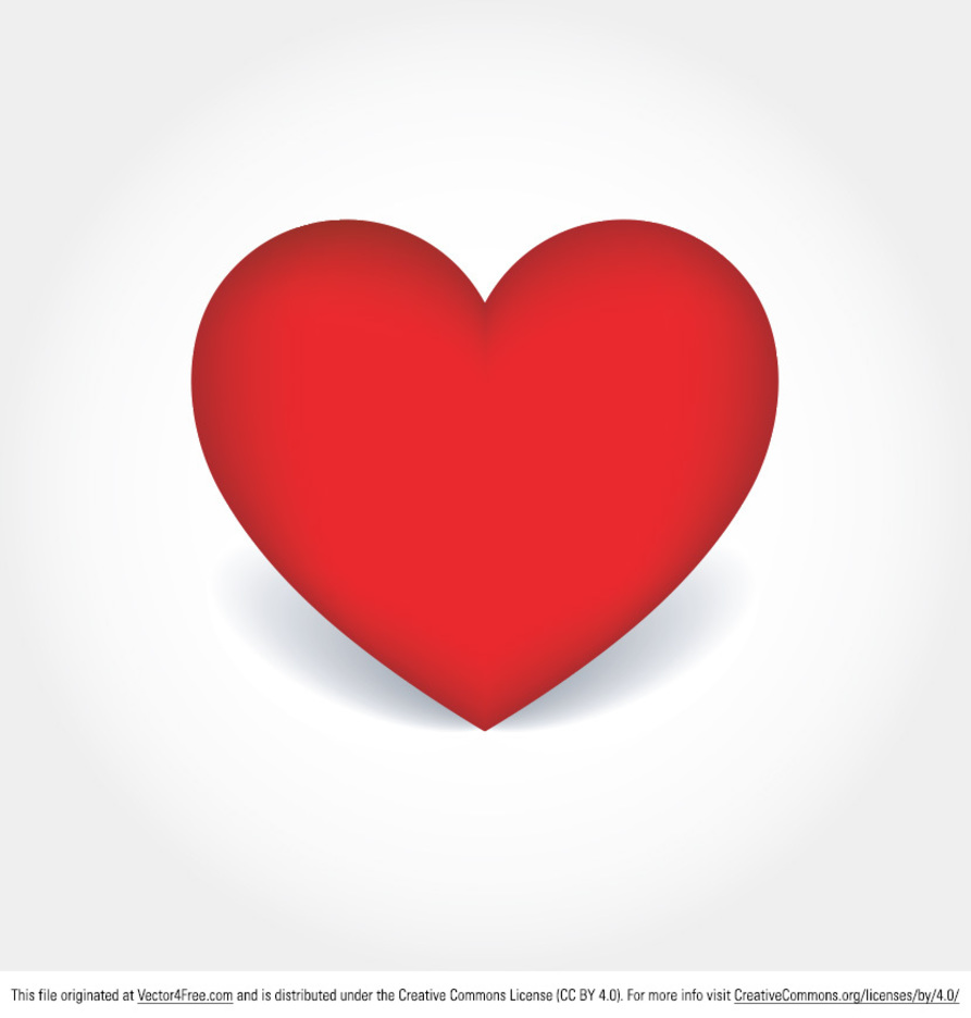 Simple Heart Vector