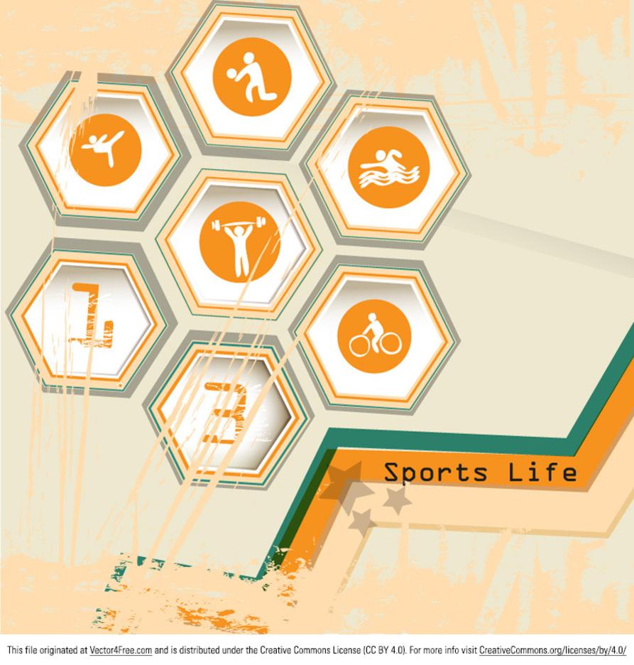 Sport Life Vector