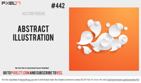 Abstract Bubble Swirl Vector