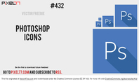 Free Photoshop Icon Vector