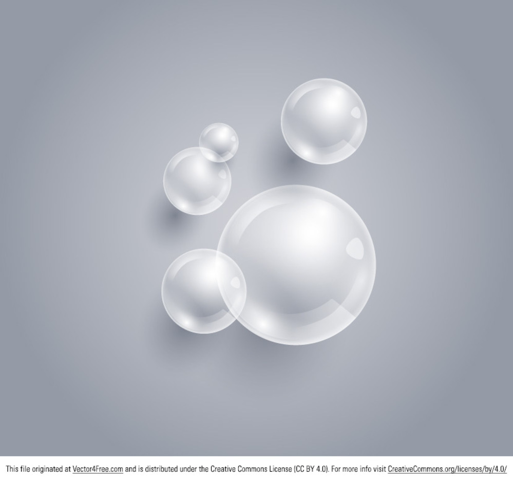 Bubble Vector Background