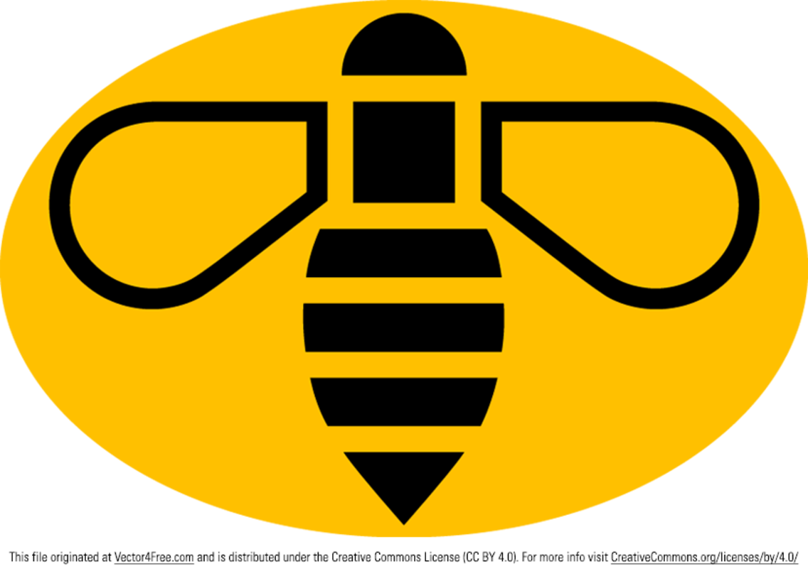 Manchester Bee Vector Logo