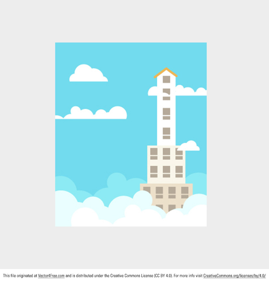 Skyscraper Vector Background