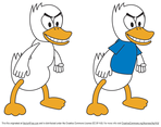 Fighting Duck Vector