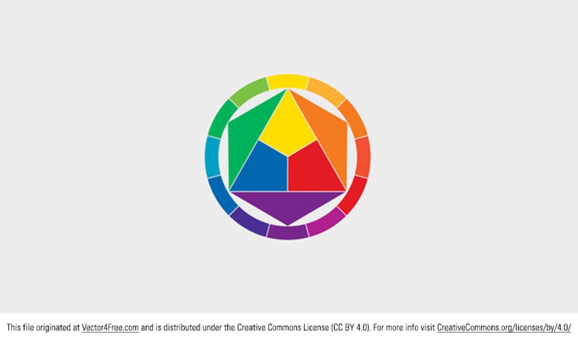 Free Vector Color Wheel