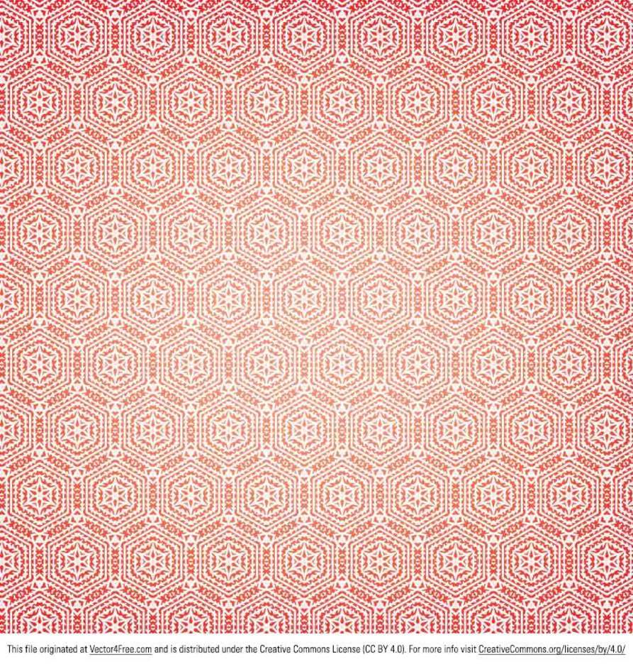 Red Patterned Vector