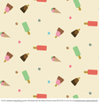 Icecream Pattern Vector
