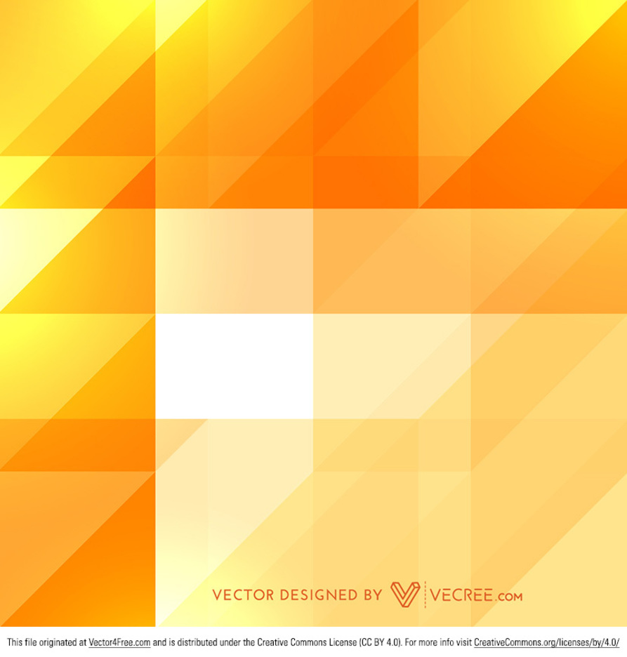 Yellow Shiny Abstract Diamond Patterns